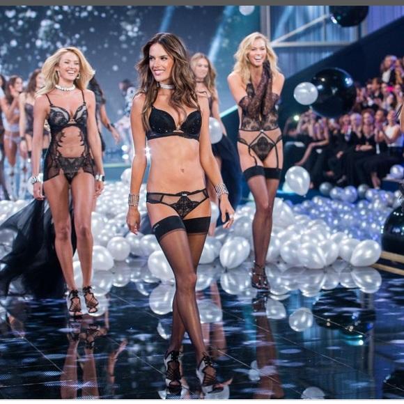 b9a35d64d27e 🆕VS Fashion show London 2014 bow rhinestone thong. Boutique. Victoria's  Secret